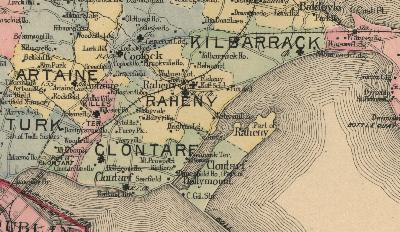 Raheny Dublin Village And District Home - Old maps of dublin